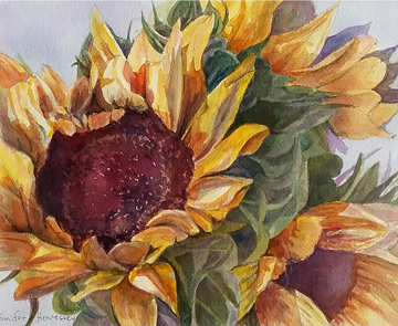 Jennifer Hennessey - sunflowers two